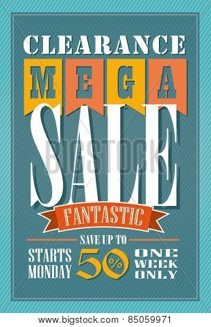 Sale Poster Vector Design