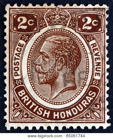 Postage Stamp British Honduras 1922 King George V