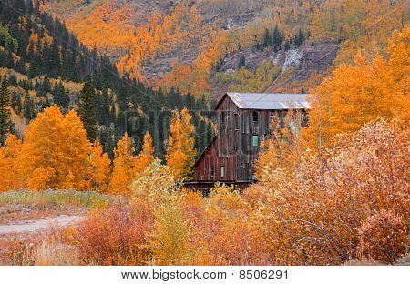 Old mill in Colorado