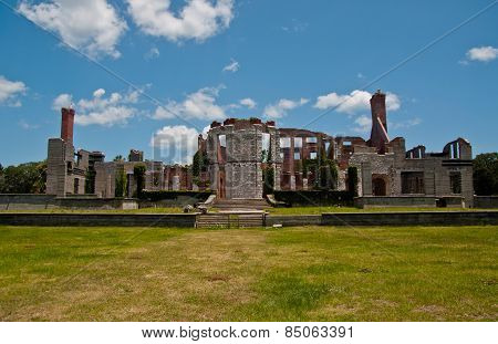 Dungeness Mansion Ruins On Cumberland National Seashore
