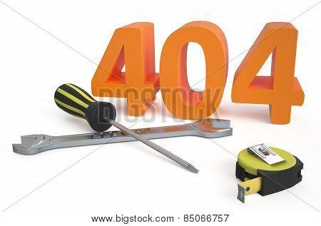 404 Repairs Concept
