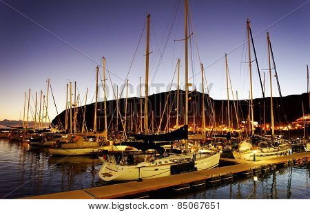 Harbour of San Sebastian de la Gomera, Canary Islands, Spain