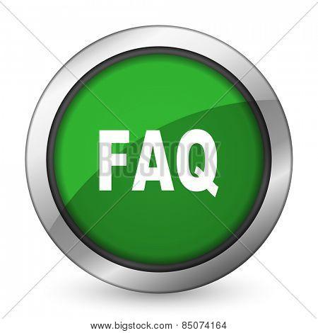 faq green icon