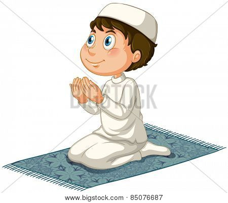 Male muslim praying