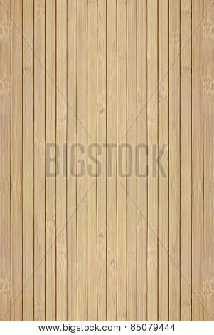 Texture Of The Wooden Slats Of Bamboo