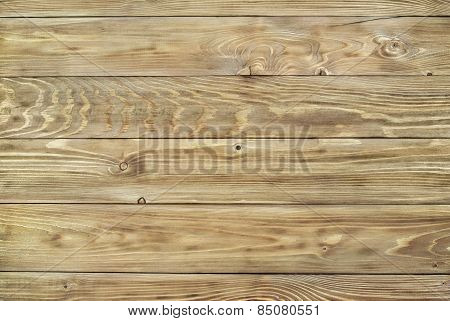 Texture Of The Fibers Planed Wooden Pine Boards
