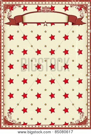 stars background pattern. A poster with stars pattern and a texture for your entertainment