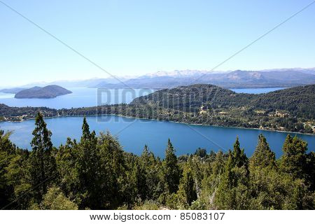 View of Nahuel Huapi lake- Argentina