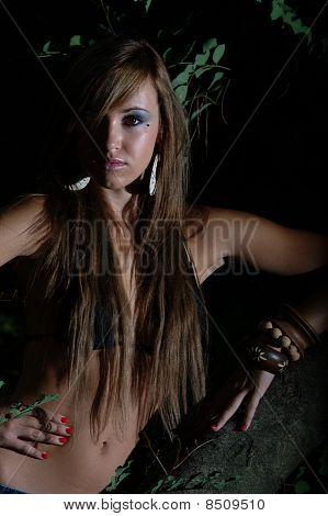 Hair on the body 160