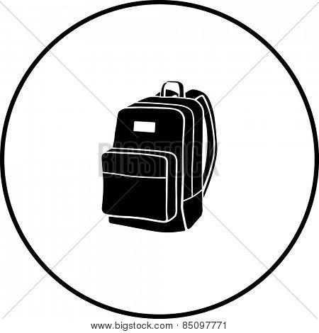 backpack symbol