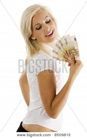 Smiling Euro Woman