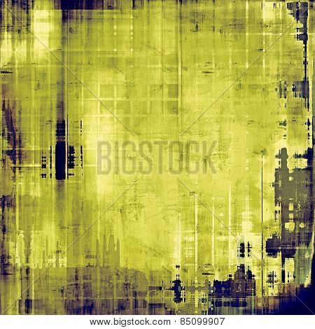 Old antique texture (for background). With different color patterns: yellow (beige); gray; green; blue
