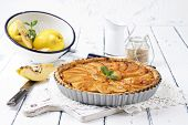 image of pie-in-face  - Quince Tart - JPG