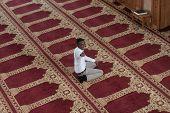 pic of muslim man  - Black African Muslim Man Showing Thumbs Up - JPG