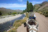picture of gaucho  - Horse ride in North Patagonia - JPG
