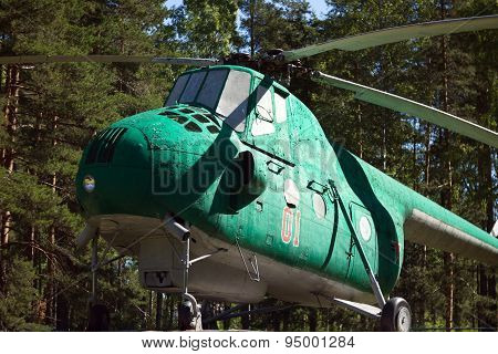 USSR old Mi-4 helicopter