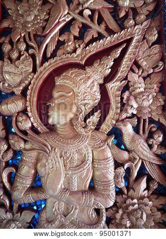 Wooden carve