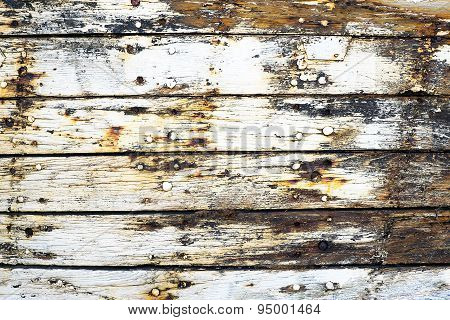 Detail of wooden planks