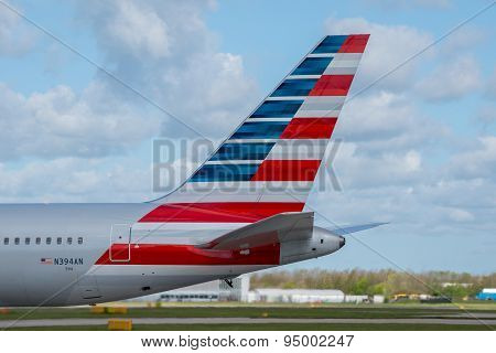 American Airlines Tail