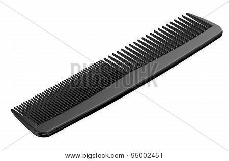 Black Comb Closeup