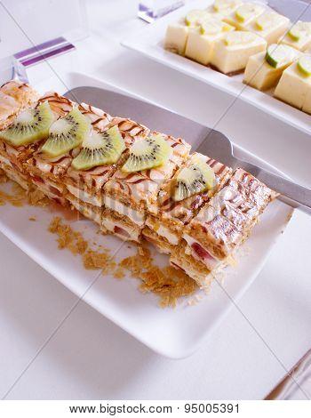 Kiwi Pie Dessert