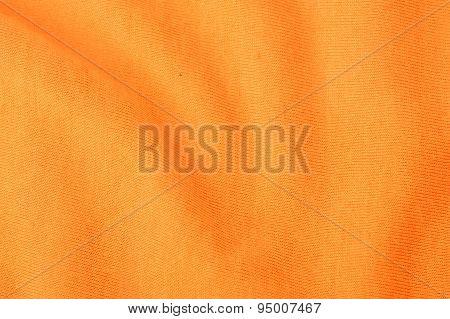 Close Up Disastrously Orange Textile