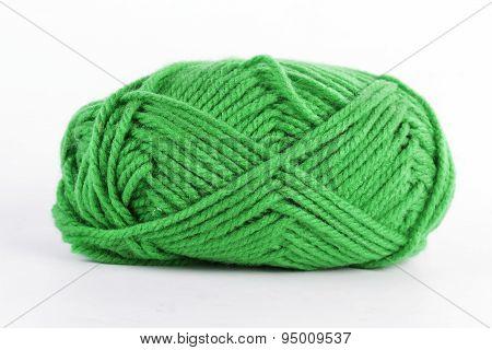 Green Wool Yarn