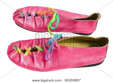 Ladies Fun Pink Shoes