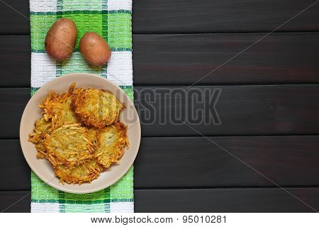 Potato Pancakes or Fritters
