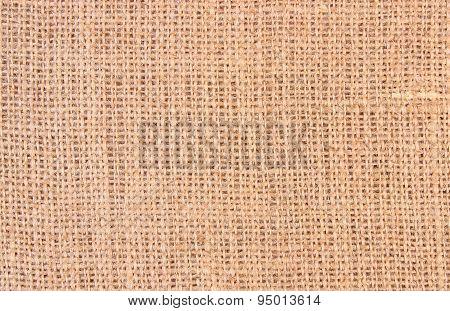 Background Of Burlap Hessian Sack