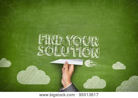 Find your solution concept