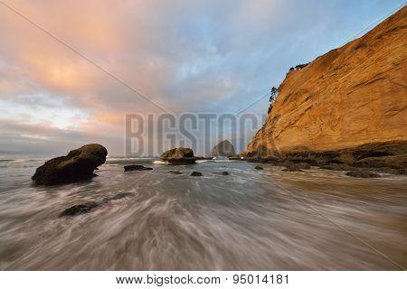 Cape Kiwanda Sunrise, Pacific City, Oregon