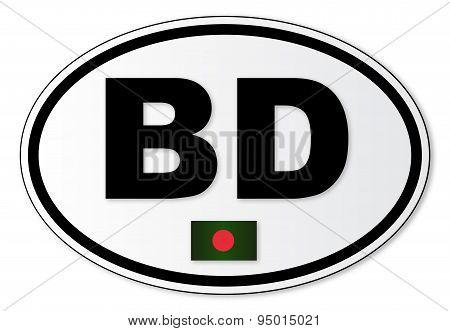 Bangladesh Bd Plate