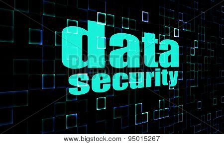 Data Security On Digital Screen