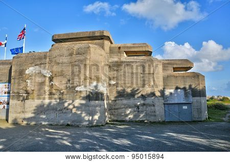 Bretagne, Le Grand Blockhaus In Batz Sur Mer