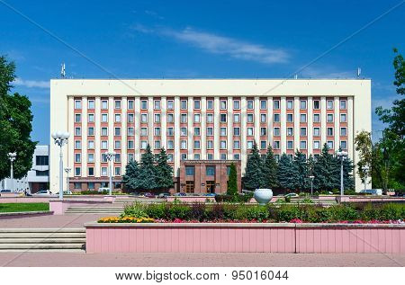 Gomel State Medical University, Main Building, Street Lange 5
