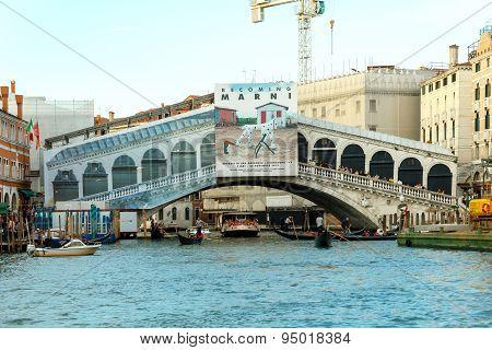Venice. Rialto Bridge.