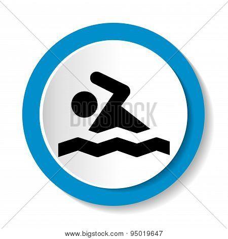 icon swimmer
