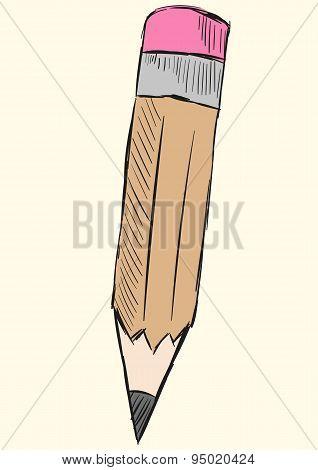 Sketch of a pencil