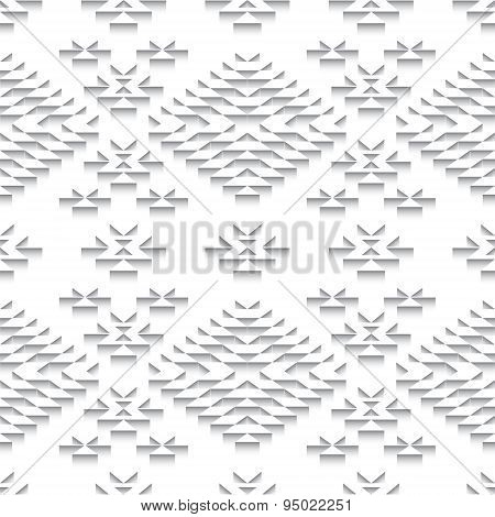 Paper Gray Seamless Pattern Background