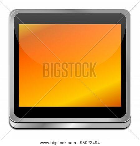 orange blank Button