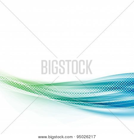 Bright Contemporary Modern Abstract Background