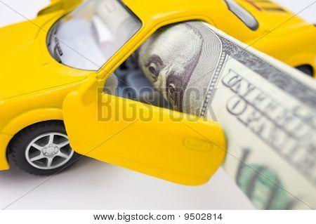 Car Cost Concept, Macro