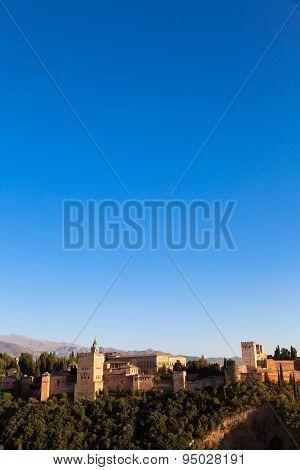 Alhambra In Granada - Spain