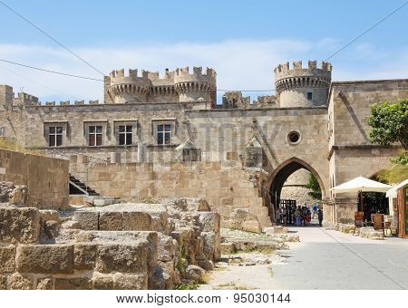 Palace Of The Grand Master Of The Knights Of Rhodes, Greece