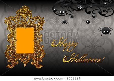 personalized halloween background