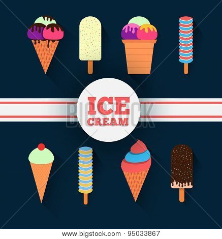 Ice-cream Design Set