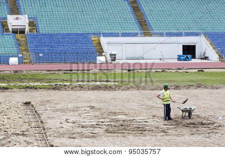 Bulgarian National Stadium Renovation
