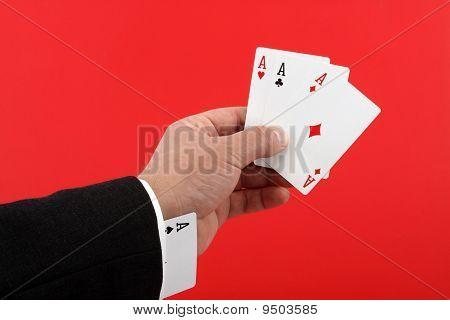 Poker-Spieler betrügen