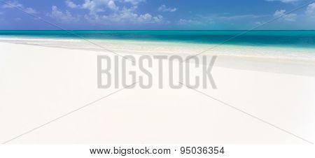 Tropical beach in Cayo Largo island